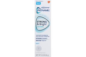 Sensodyne ProNamel Strong & Bright Enamel Toothpaste Mint