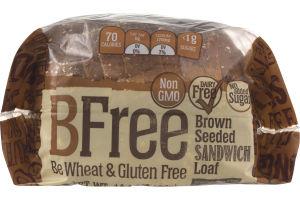 BFree Brown Seeded Sandwich Loaf
