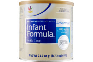 Ahold Infant Formula with Iron Advantage
