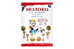 Молоко сухое 25% цельное Молочний світ м/у 250г