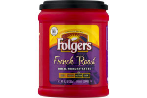 Folgers French Roast Ground Coffee Med-Dark