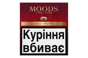 Сигари Moods Filter (10шт)