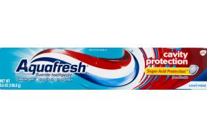 Aquafresh Cavity Protection Fluoride Toothpaste Cool Mint