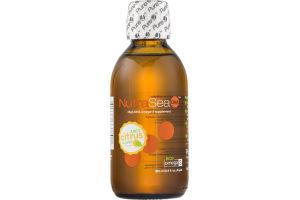 NutraSea DHA Omega-3 Supplement Juicy Citrus Flavor