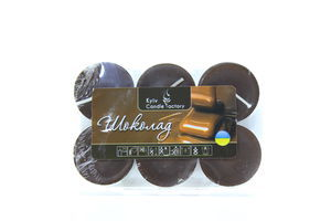 Свічка Kyiv Candle Factory ароматизована Шоколад 6шт