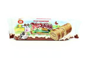 Рулет ХБФ Забодайка бісквітний шоколадно-вершковий 205г х21
