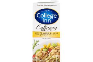 College Inn Culinary Broth White Wine & Herb
