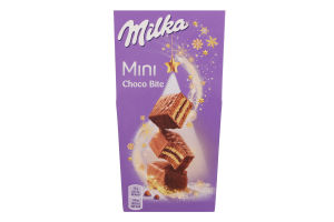 Пирожное бисквитное Mini Choco Bite Milka к/у 117г