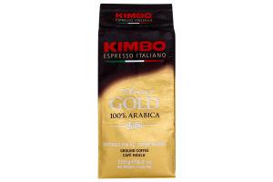Кава Kimbo Aroma Gold 100% Arabica мелена 250г