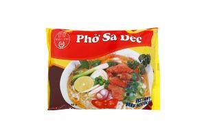 Лапша рисовая быстрого приготовления со вкусом говядины Bich-Chi м/у 60г