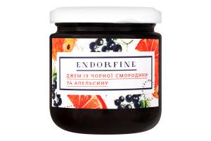 Джем із чорної смородини та апельсину Endorfine с/б 234г