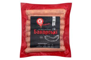 Ковбаски варені для смаження Баварські 1с в/п БЕЗ ГМО