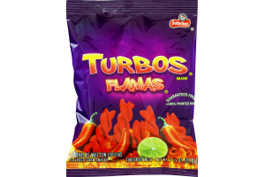 Turbos Flamas Corn Snacks