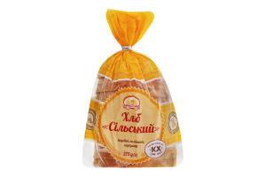 Хлеб подовый половинка в нарезке Сельский Формула смаку м/у 275г