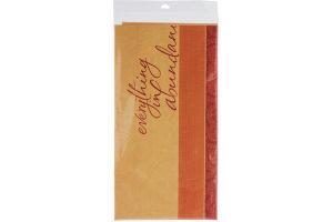 Hallmark Party Table Cover Plastic Bastin Day of Gratitude- 54 x 102 IN
