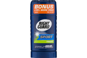Right Guard Antiperspirant Deodorant Sport Fresh