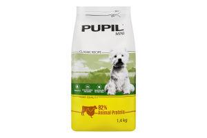 Корм для собак Pupil Prime курица-говядина сухой