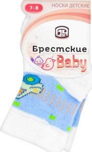 Носки детские Брестские 3081 421 белый р.7-8