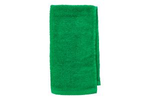 Салфетка махровая зеленая 30х50см Баркас-Текс 1шт