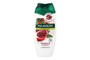 Гель-крем для душу зі зволожуючим молочком Вітамін В і Гранат Натурель Palmolive 250мл