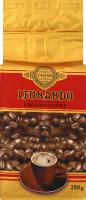 Кава натуральна смажена мелена Leonardo м/у 250г