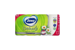 Туалетний папір Deluxe Zewa 8шт