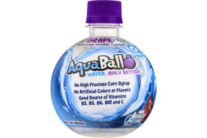 AquaBall Flavored Water Drink Grape