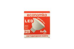 Лампа світлодіодна Economka LED MR16 6W GU5.3 4200K 1шт