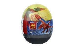 Конструктор Мини-динозавр в яйце в ассортим D*001
