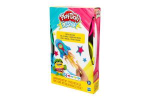Пластилін для дітей від 2років №6 Elastix Play-Doh Hasbro 1шт