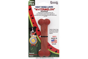 "StoneBone Small Dog Bone ""Watermelon"""