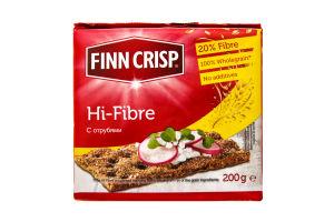 Хлебцы с отрубями Hi-fibre Finn Crisp м/у 200г