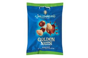 Драже Мигдаль у молочному шоколаді Golden Nuts Millenium м/у 100г