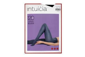 Колготки жіночі Intuicia Comfort 120den №4 чорний