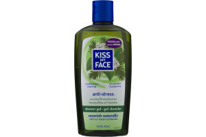 Kiss My Face Shower Gel Anti-Stress Woodland Pine & Ginseng