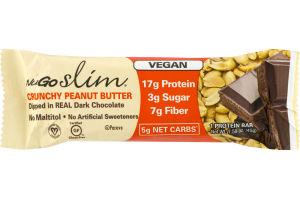 NuGo Slim Crunchy Peanut Butter Dipped in Dark Chocolate Protein Bar