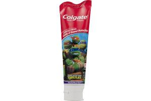 Colgate Toothpaste Teenage Mutant Ninja Turtles