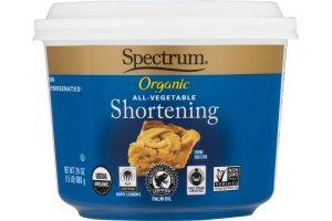 Spectrum Organic All-Vegetable Shortening Non-Hydrogenated
