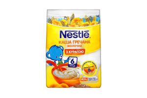 Каша Nestle молочна гречана з курагою 180г