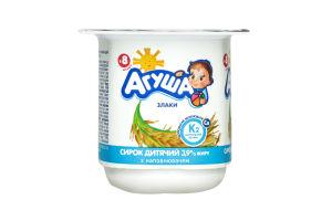 Сир 3,9% злаки Агуша п/б 100г