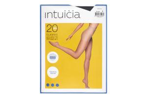 Колготки жіночі Intuicia Classic 20den №3 чорний