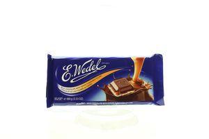 Шоколад E.Wedel молочний з карамелевою начинкою 100г х20