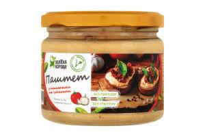 Паштет с томатами и чесноком Зелена корова ст/б 300г