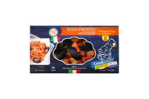 Замороженный Морской Коктейль, Sugo Pronto ale Cozze / Готовий Соус з Мідіями, 450G*10