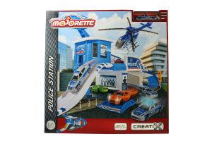 Іграшка для дітей від 3років Police Station Majorette 1шт