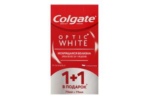 Паста зубная Optic white Colgate 2х75мл