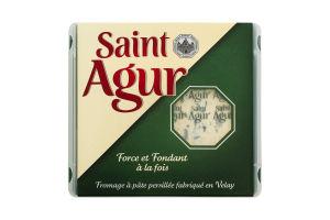 Сыр 60% голубой Saint Agur п/у 125г