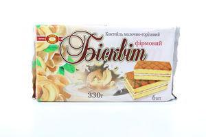 Бисквит молочно-ореховый ХБФ 330г