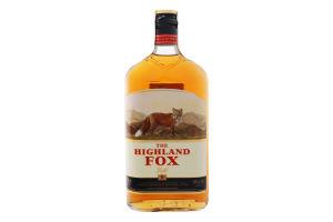 Настоянка 0.5л 38% Gold The Highland Fox пл