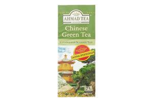 Чай Ahmad Tea Чай зелений Китайський, пакетики з ярликами, 25х1,8г